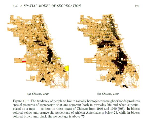 segregacja rasowa w przestrzeni miasta Chicago w latach 1940-60